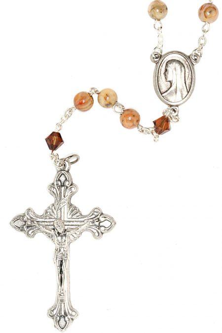 Agate Gemstone Rosary