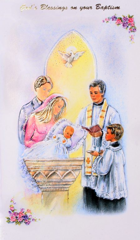 God's Blessings on your Baptism (Boy)