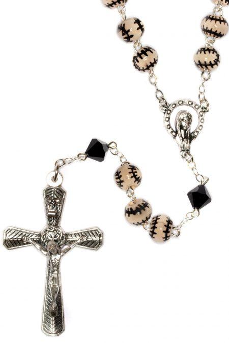 Baseball Ceramic Sport Rosary