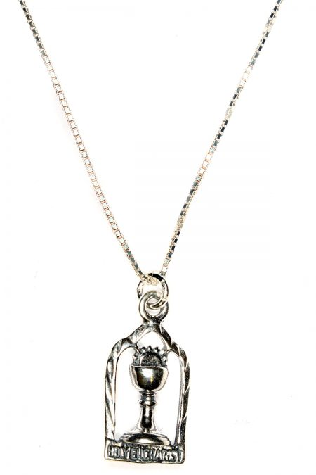 Holy Eucharist (First Communion) Sterling Silver Necklace