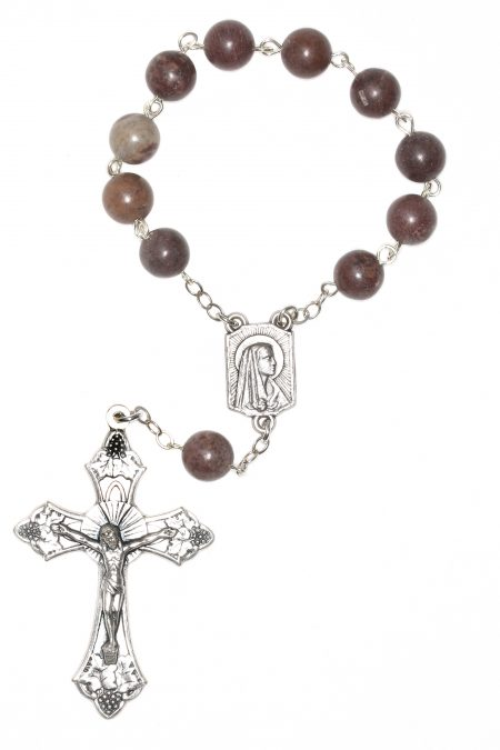 Crazy Horse Gemstone Pocket or Auto Rosary