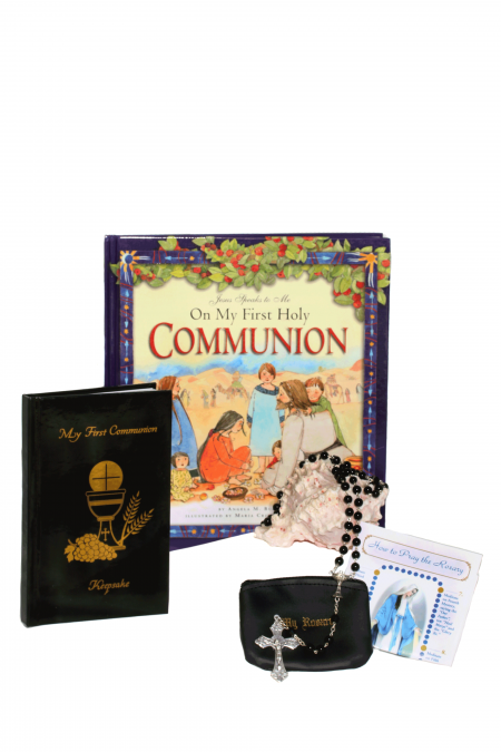 Deluxe First Communion Gift Idea - Black