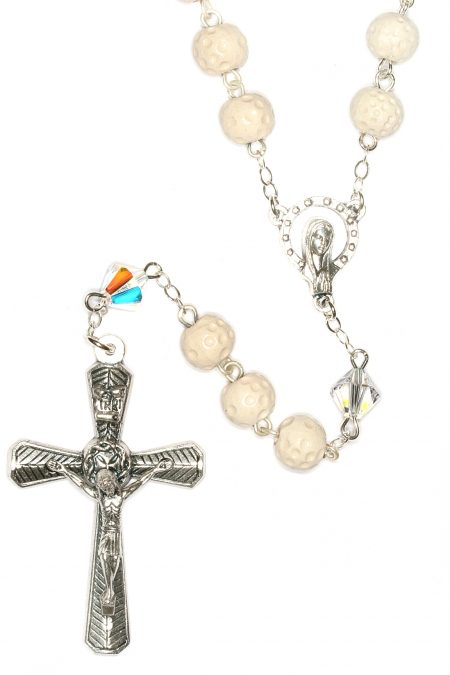 Golf Ceramic Sport Rosary