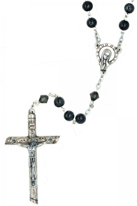 Hematite / Hemalyke Gemstone Rosary