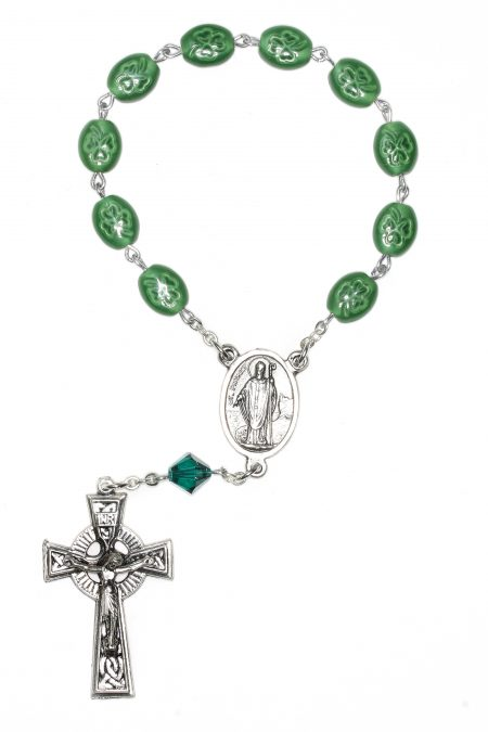 Irish One Decade Pocket or Auto Rosary