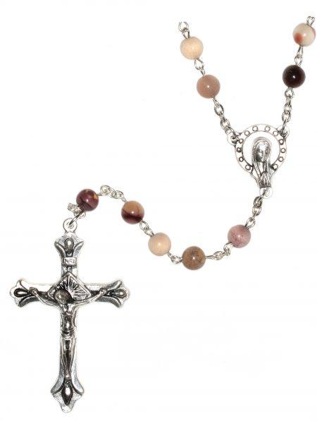 Moukaite Gemstone Rosary