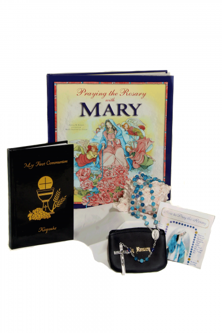 Deluxe Mary First Communion Gift Idea - Choose Your Rosary