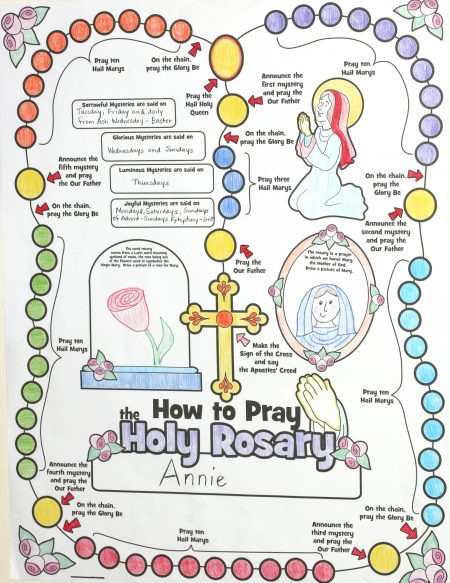 Color Me Rosary Poster