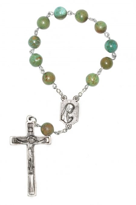 Turquoise Pocket or Auto Rosary