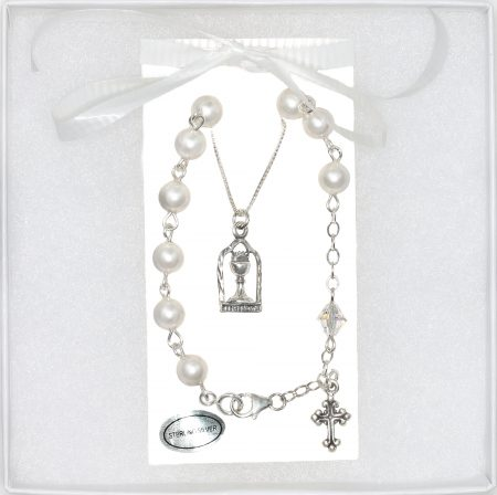 First Holy Communion Sterling Silver Gift Set