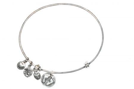 Baby Sterling Silver Bangle Bracelet